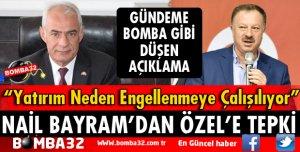 NAİL BAYRAM'DAN RECEP ÖZEL'E TEPKİ