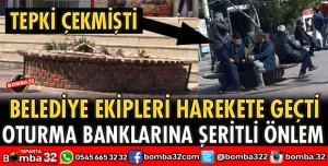 OTURMA BANKLARINA ŞERİTLİ ÖNLEM
