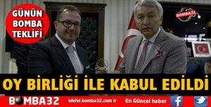 OY BİRLİĞİ İLE KABUL EDİLDİ