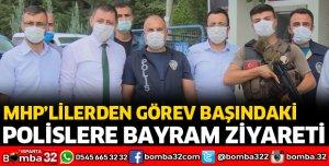 POLİSLERİN BAYRAMINI KUTLADILAR