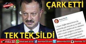 RECEP ÖZEL O TWETLERİ TEK TEK SİLDİ