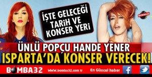 SDÜ'DE HANDE YENER KONSERİ