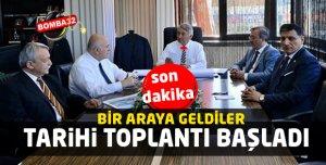 TARİHİ TOPLANTI BAŞLADI!