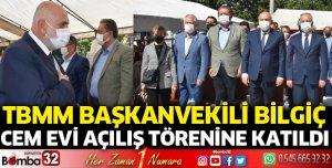 TBMM Başkanvekili Bilgiç, Cem Evi açılışına katıldı