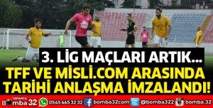 TFF VE MİSLİ.COM ARASINDA TARİHİ ANLAŞMA İMZALANDI!