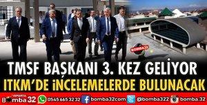 TMSF BAŞKANI GELİYOR