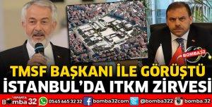 TMSF GENEL MERKEZİNDE ITKM ZİRVESİ