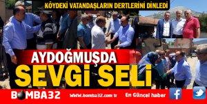 VALİ ŞEHMUS GÜNAYDIN'DAN AYDOĞMUŞ ZİYARETİ
