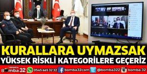 Vali Seymenoğlu'ndan vatandaşları uyarın talimatı