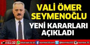 YENİ KARARLAR ALINDI