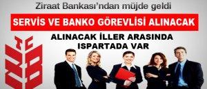 ZİRAAT BANKASI BİN KİŞİ ALACAK