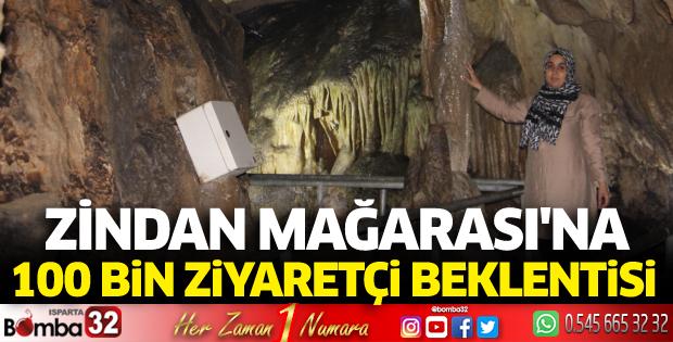 Zindan Mağarası'na 100 bin ziyaretçi beklentisi
